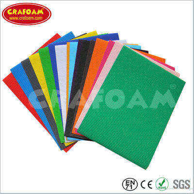Color Corrugated Paper