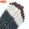 Red Wine Synthetic Brush