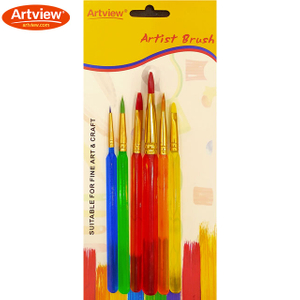 Kids Brushes Set With Synthetic Hair